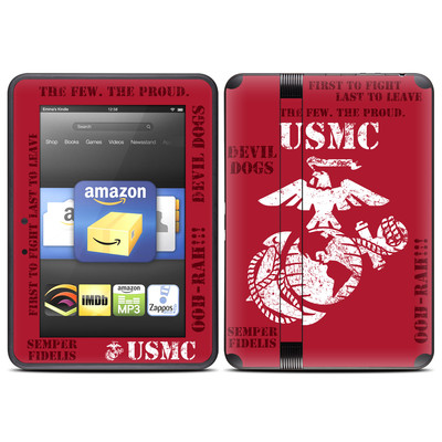 Amazon Kindle Fire HD (2012) Skin - Semper Fi