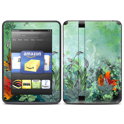 Amazon Kindle Fire HD (2012) Skin - Sea Flora