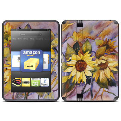 Amazon Kindle Fire HD (2012) Skin - Sunflower