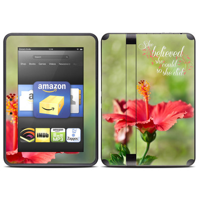Amazon Kindle Fire HD (2012) Skin - She Believed