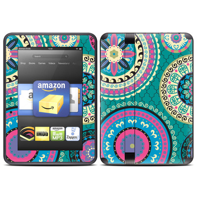 Amazon Kindle Fire HD (2012) Skin - Silk Road