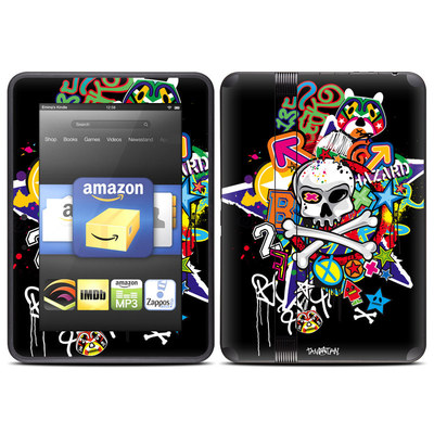 Amazon Kindle Fire HD (2012) Skin - Skulldaze