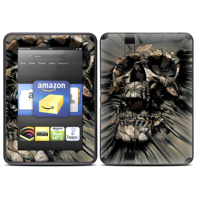 Amazon Kindle Fire HD (2012) Skin - Skull Wrap