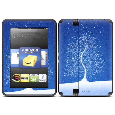 Amazon Kindle Fire HD (2012) Skin - Snowflakes Are Born