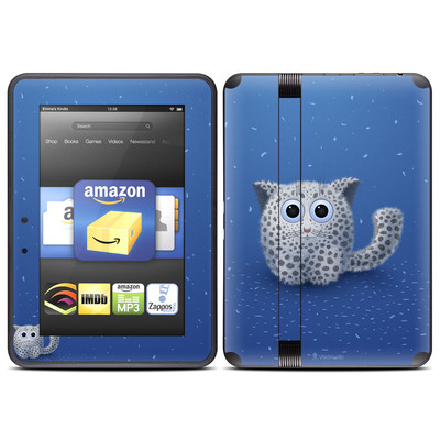 Amazon Kindle Fire HD (2012) Skin - Snow Leopard