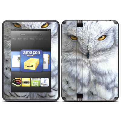 Amazon Kindle Fire HD (2012) Skin - Snowy Owl