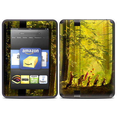 Amazon Kindle Fire HD (2012) Skin - Secret Parade