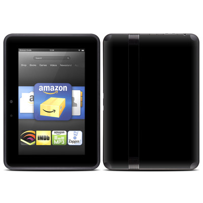 Amazon Kindle Fire HD (2012) Skin - Solid State Black