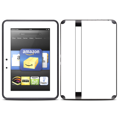 Amazon Kindle Fire HD (2012) Skin - Solid State White
