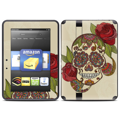 Amazon Kindle Fire HD (2012) Skin - Sugar Skull
