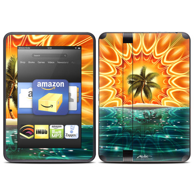 Amazon Kindle Fire HD (2012) Skin - Sundala Tropic