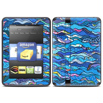 Amazon Kindle Fire HD (2012) Skin - The Blues