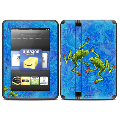 Amazon Kindle Fire HD (2012) Skin - Tiger Frogs