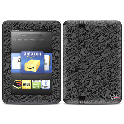 Amazon Kindle Fire HD (2012) Skin - Tracked