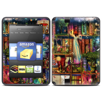 Amazon Kindle Fire HD (2012) Skin - Treasure Hunt
