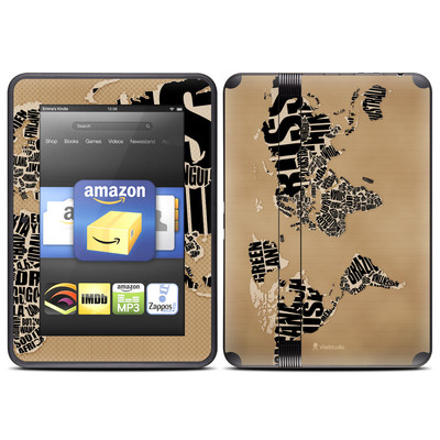 Amazon Kindle Fire HD (2012) Skin - Type Map