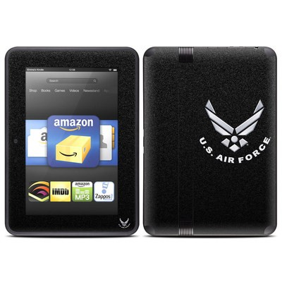 Amazon Kindle Fire HD (2012) Skin - USAF Black