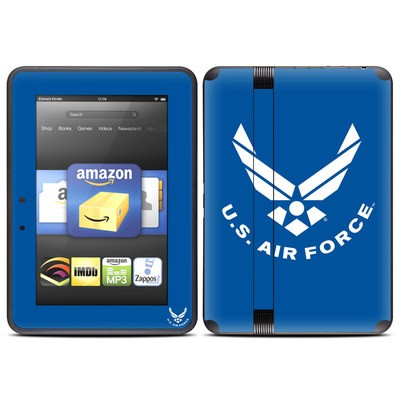 Amazon Kindle Fire HD (2012) Skin - USAF Blue