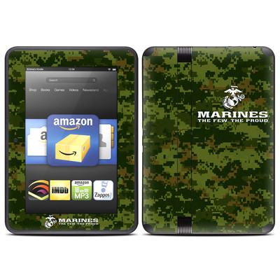 Amazon Kindle Fire HD (2012) Skin - USMC Camo