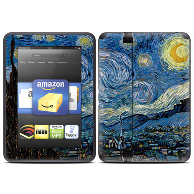Amazon Kindle Fire HD (2012) Skin - Starry Night