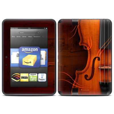 Amazon Kindle Fire HD (2012) Skin - Violin