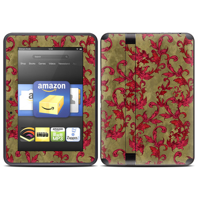Amazon Kindle Fire HD (2012) Skin - Vintage Scarlet