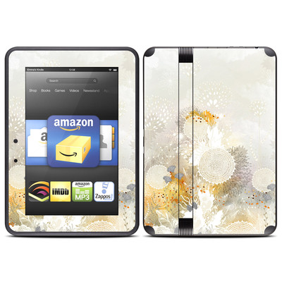 Amazon Kindle Fire HD (2012) Skin - White Velvet