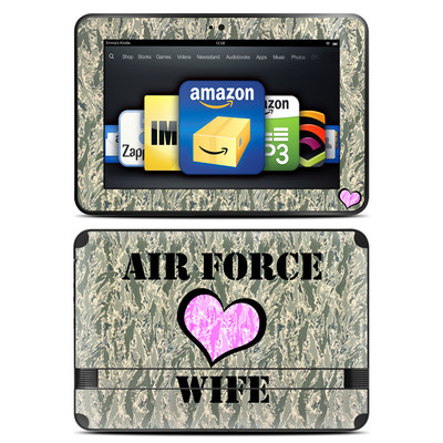 Amazon Kindle Fire HD 8.9 Skin - Air Force Wife