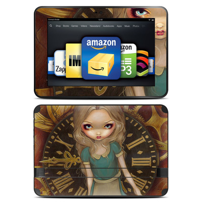 Amazon Kindle Fire HD 8.9 Skin - Alice Clockwork