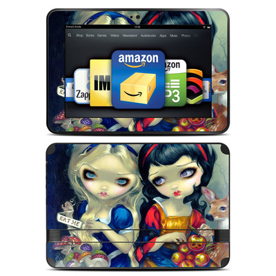 Amazon Kindle Fire HD 8.9 Skin - Alice & Snow White