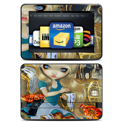 Amazon Kindle Fire HD 8.9 Skin - Alice in a Dali Dream