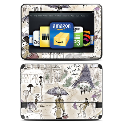 Amazon Kindle Fire HD 8.9 Skin - Ah Paris