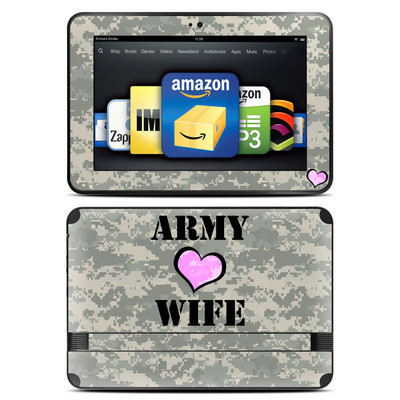 Amazon Kindle Fire HD 8.9 Skin - Army Wife