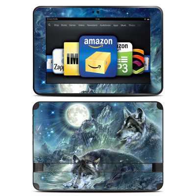 Amazon Kindle Fire HD 8.9 Skin - Bark At The Moon