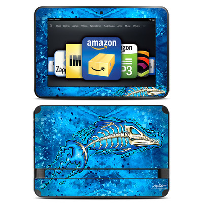 Amazon Kindle Fire HD 8.9 Skin - Barracuda Bones