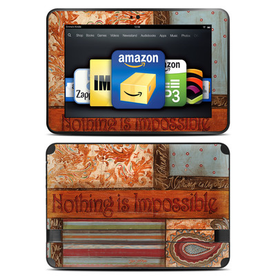Amazon Kindle Fire HD 8.9 Skin - Be Inspired