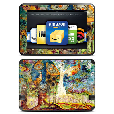 Amazon Kindle Fire HD 8.9 Skin - Blue Hello