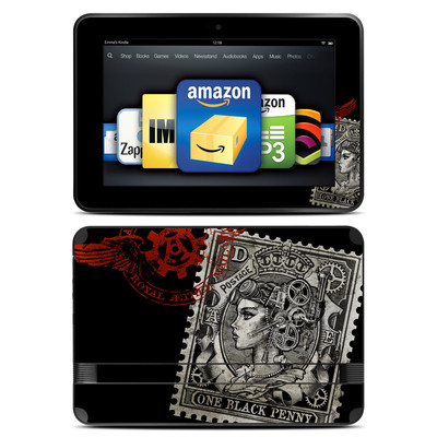 Amazon Kindle Fire HD 8.9 Skin - Black Penny