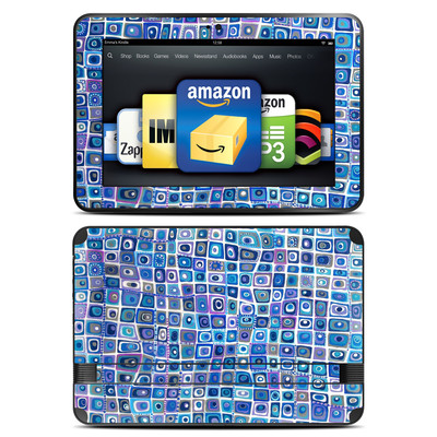 Amazon Kindle Fire HD 8.9 Skin - Blue Monday