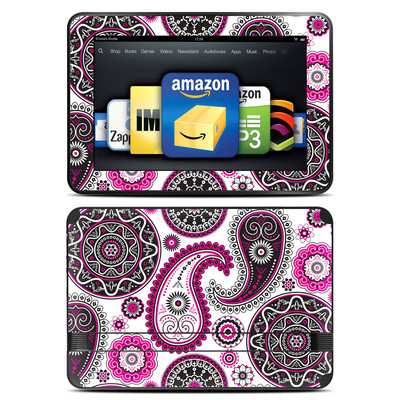 Amazon Kindle Fire HD 8.9 Skin - Boho Girl Paisley