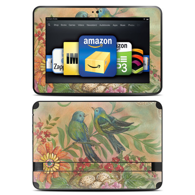 Amazon Kindle Fire HD 8.9 Skin - Splendid Botanical