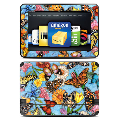 Amazon Kindle Fire HD 8.9 Skin - Butterfly Land