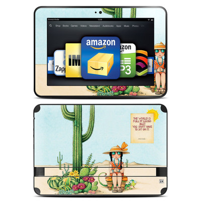 Amazon Kindle Fire HD 8.9 Skin - Cactus