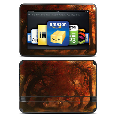 Amazon Kindle Fire HD 8.9 Skin - Canopy Creek Autumn