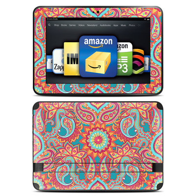 Amazon Kindle Fire HD 8.9 Skin - Carnival Paisley
