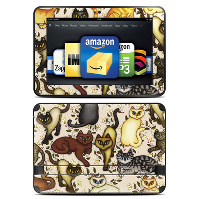 Amazon Kindle Fire HD 8.9 Skin - Cats