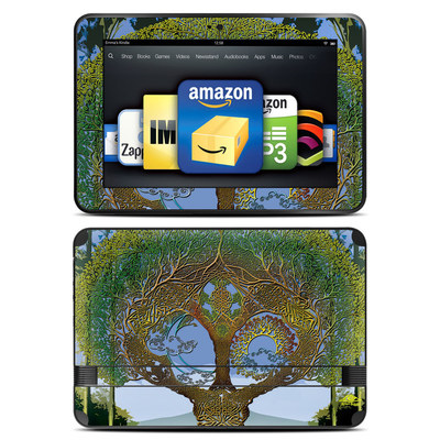 Amazon Kindle Fire HD 8.9 Skin - Celtic Tree