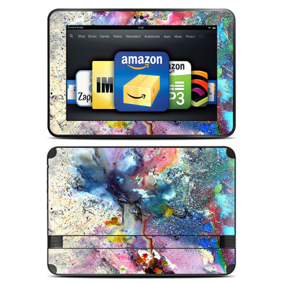 Amazon Kindle Fire HD 8.9 Skin - Cosmic Flower