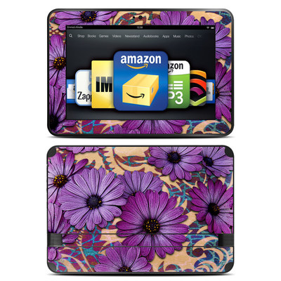 Amazon Kindle Fire HD 8.9 Skin - Daisy Damask