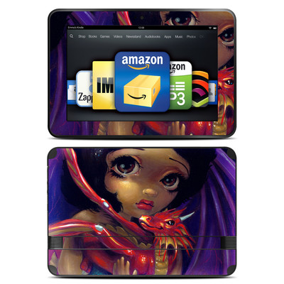 Amazon Kindle Fire HD 8.9 Skin - Darling Dragonling